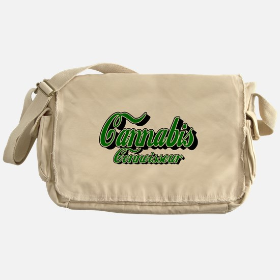 Cannabis Connoisseur Messenger Bag