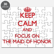 Cute Maid honor Puzzle