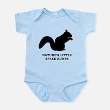 Nature's Little Speed Bumps Body Suit