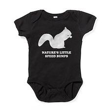 Nature's Little Speed Bumps Baby Bodysuit