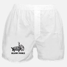 Turtle Slow Poke Boxer Shorts