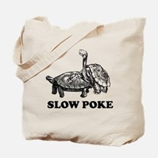 Turtle Slow Poke Tote Bag