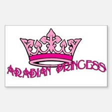 Arabian Princess Decal