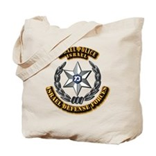 Israel - Police Hat Badge Tote Bag