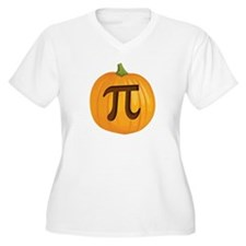 Halloween Pumpkin Pie Pi Plus Size T-Shirt