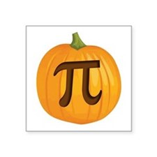 Halloween Pumpkin Pie Pi Sticker