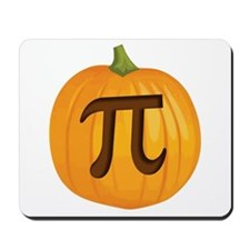 Halloween Pumpkin Pie Pi Mousepad