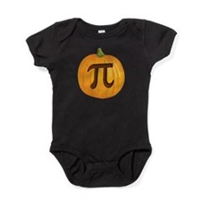 Halloween Pumpkin Pie Pi Baby Bodysuit