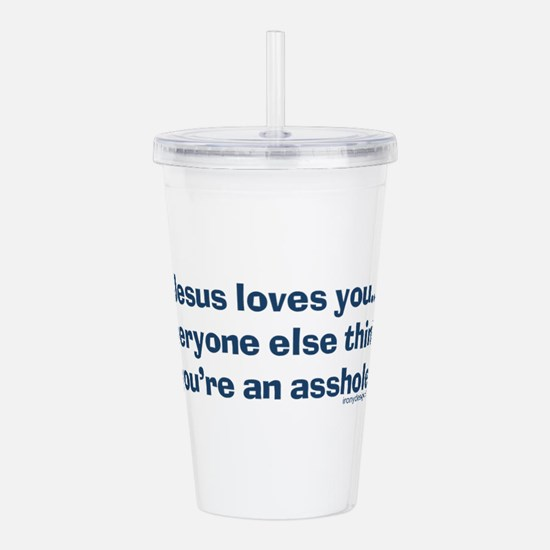 Cute Offensive Acrylic Double-wall Tumbler