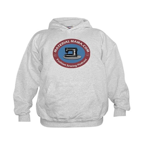 Material Mama Podcast Kids Hoodie