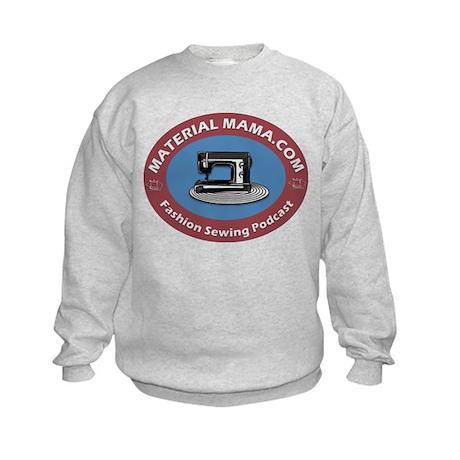 Material Mama Podcast Kids Sweatshirt