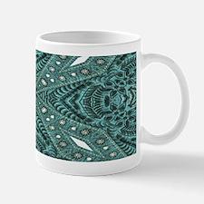 Turquoise tooled leather western Mugs