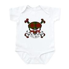MacDuff Tartan Skull Infant Bodysuit