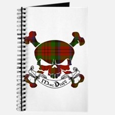 MacDuff Tartan Skull Journal