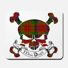 MacDuff Tartan Skull Mousepad