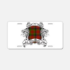 MacDuff Tartan Shield Aluminum License Plate
