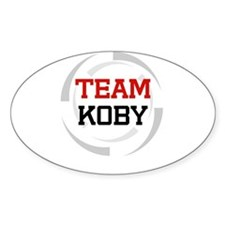 Koby Oval Decal
