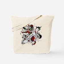 MacDuff Tartan Lion Tote Bag