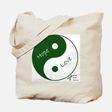 Yin Yang Hope Love Tote Bag