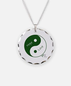 Yin Yang Hope Love Necklace