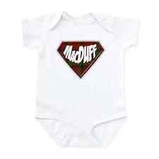 MacDuff Superhero Infant Bodysuit
