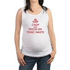 Cute Wasted Maternity Tank Top