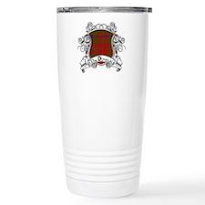 MacDougal Tartan Shield Travel Mug