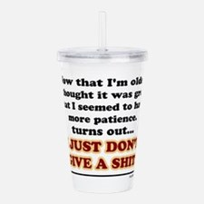 Cute When i grow up Acrylic Double-wall Tumbler