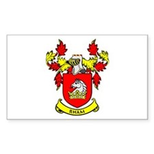 RHAM Coat of Arms Rectangle Decal