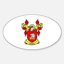 RHAM Coat of Arms Oval Decal