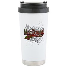 MacDougal Tartan Grunge Travel Mug