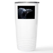Crow Head Travel Mug