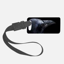 Crow Head Luggage Tag