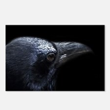 Crow Head Postcards (Package of 8)