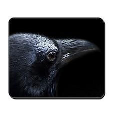 Crow Head Mousepad