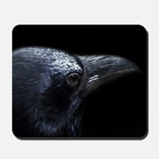 Crow Head Mousepad