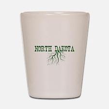 North Dakota Roots Shot Glass