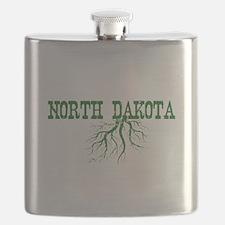 North Dakota Roots Flask