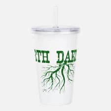 North Dakota Roots Acrylic Double-wall Tumbler