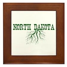North Dakota Roots Framed Tile