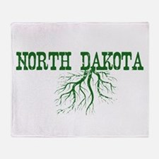 North Dakota Roots Throw Blanket
