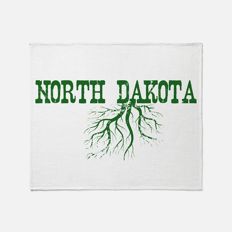 North Dakota Roots Throw Blanket