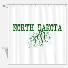 North Dakota Roots Shower Curtain