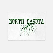 North Dakota Roots 5'x7'Area Rug