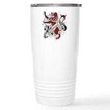 MacDougal Tartan Lion Travel Mug