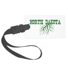 North Dakota Roots Luggage Tag
