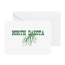 North Dakota Roots Greeting Cards (Pk of 20)