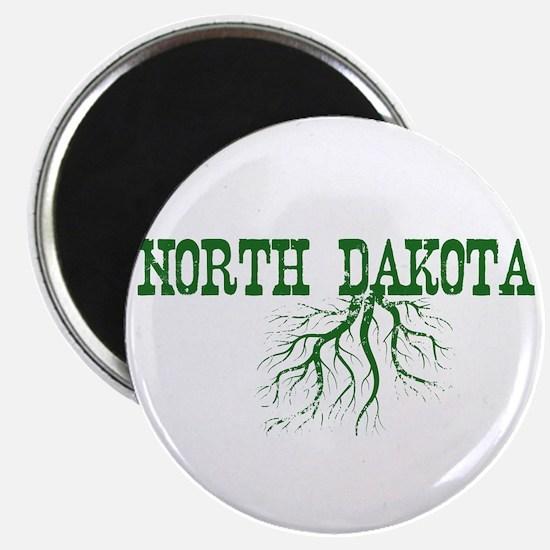 "North Dakota Roots 2.25"" Magnet (10 pack)"