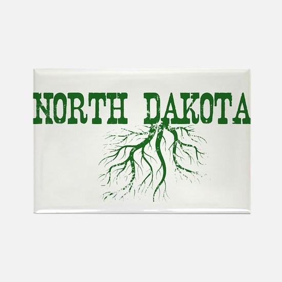 North Dakota Roots Rectangle Magnet