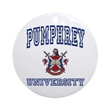PUMPHREY University Ornament (Round)